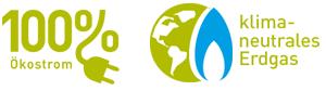 100 % Ökostrom Logo